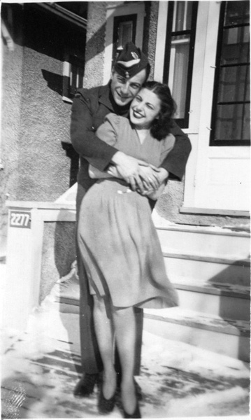 Naomi Finkelstein (Clifford's neice) has scanned and sent many ... Wwii Soldiers Returning Home